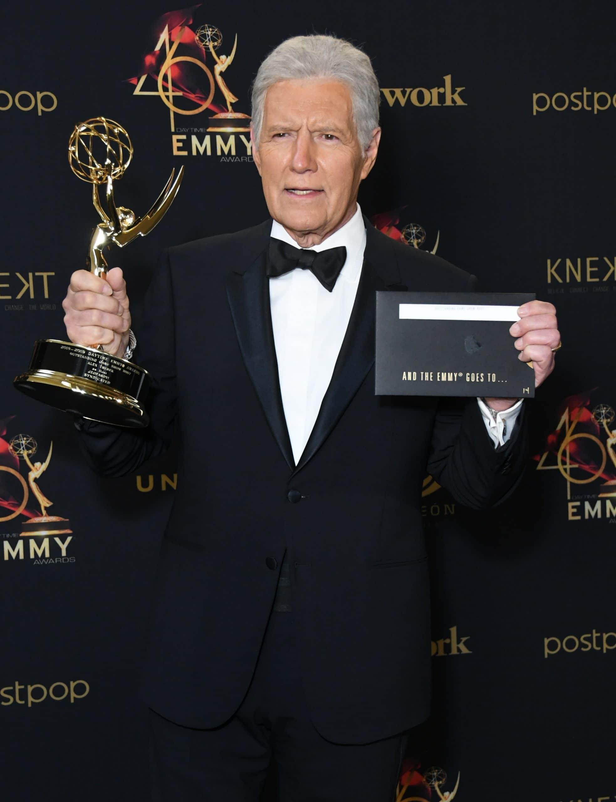 Alex Trebek. 46th Annual Daytime Emmy Awards