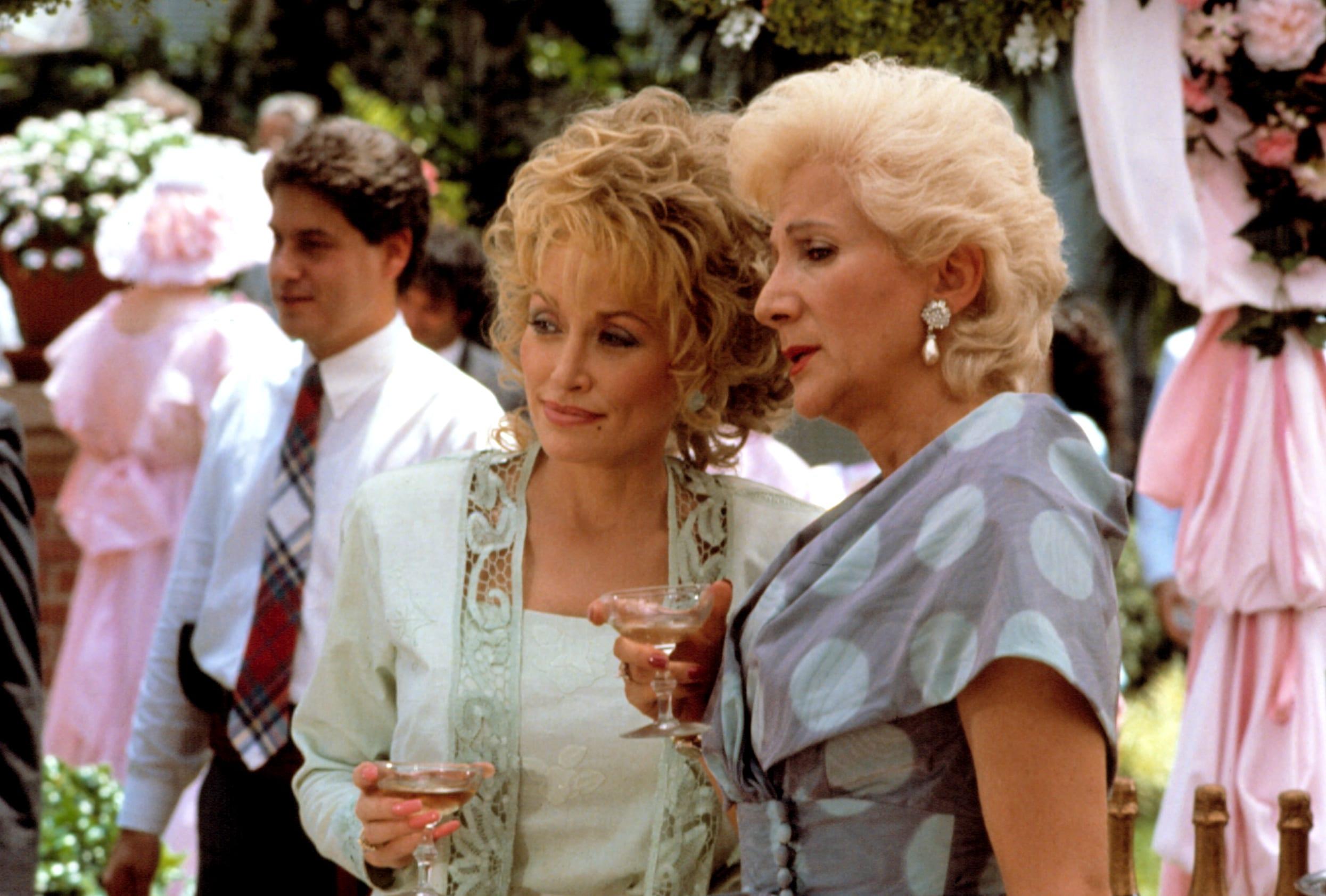 STEEL MAGNOLIAS, Dolly Parton, Olympia Dukakis, 1989