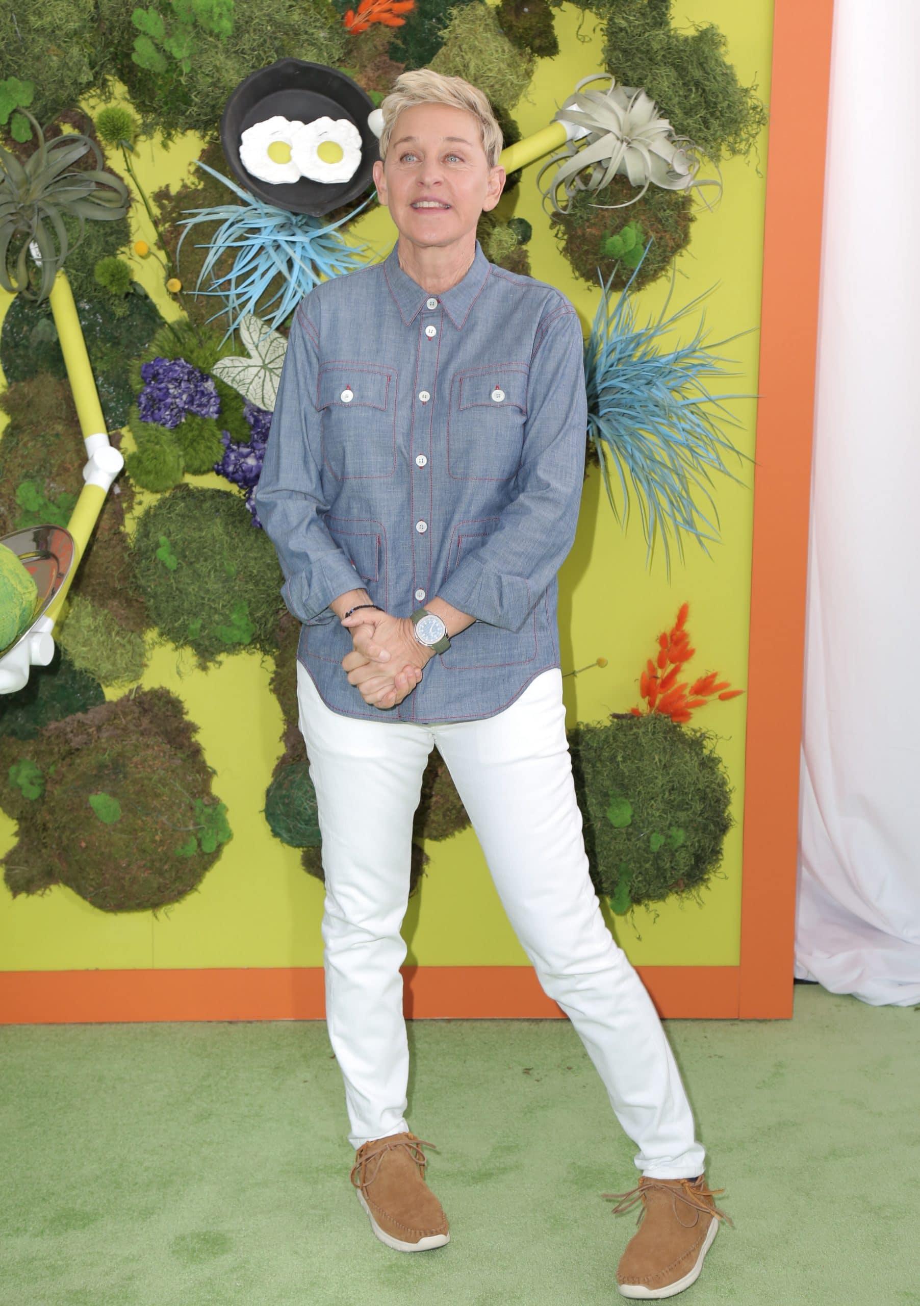 """Ellen DeGeneres. Premiere Of Netflix's """"Green Eggs And Ham"""""""