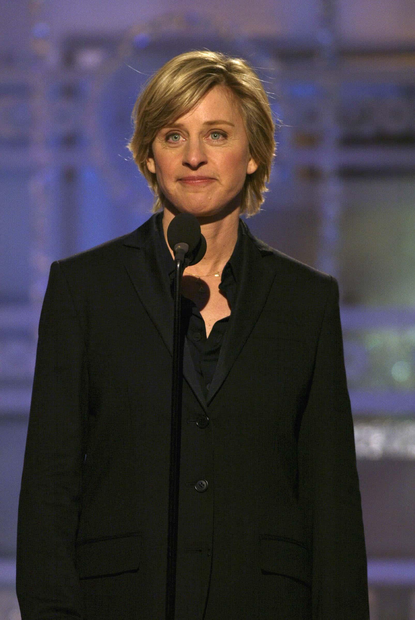 Ellen Degeneres at the GOLDEN GLOBE AWARDS