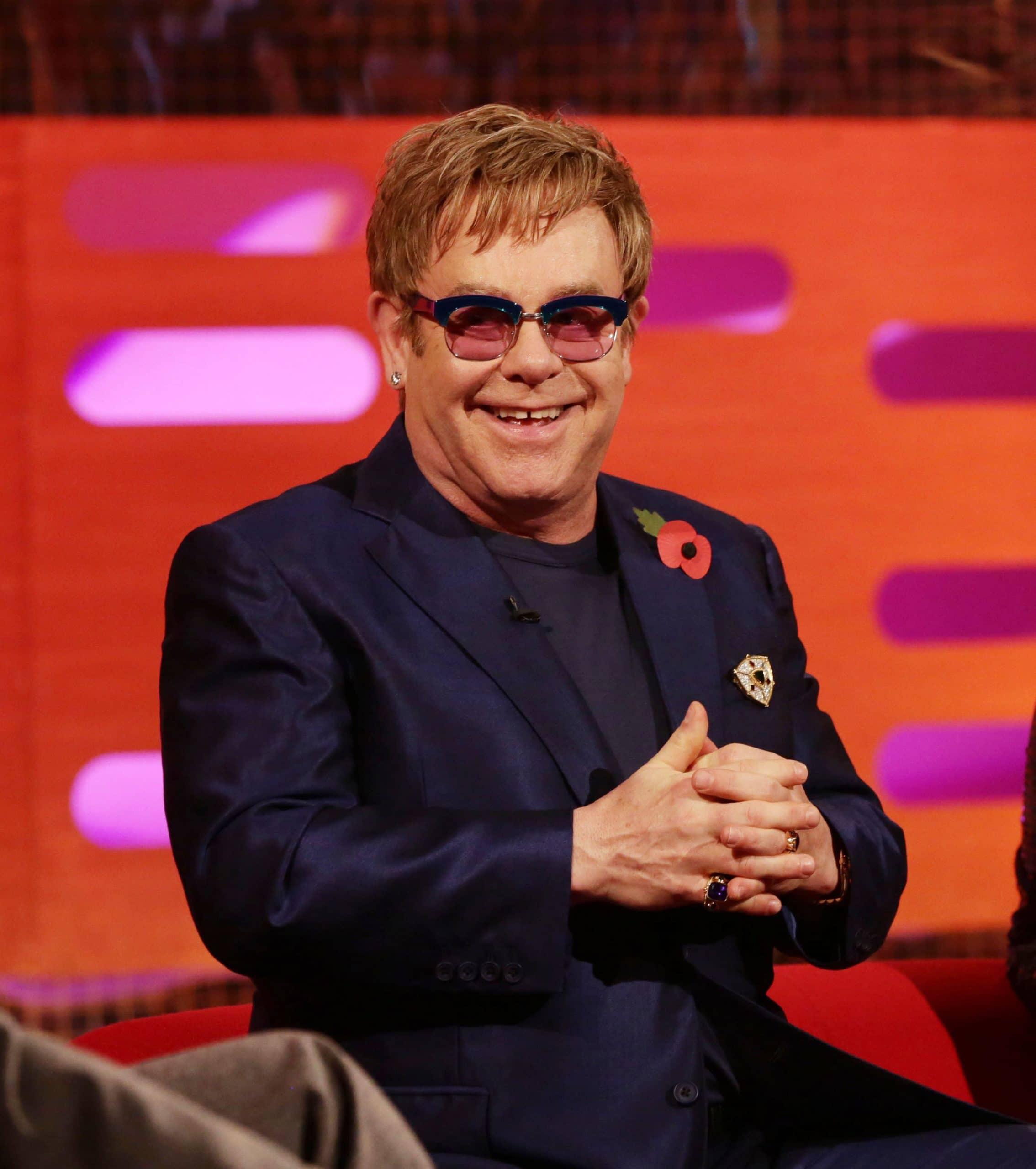 THE GRAHAM NORTON SHOW, Elton John