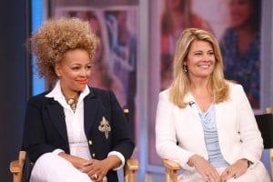 GOOD MORNING AMERICA, (from left): Kim Fields, Lisa Whelchel