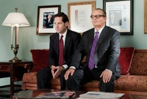 HOW DO YOU KNOW, from left: Paul Rudd, Jack Nicholson