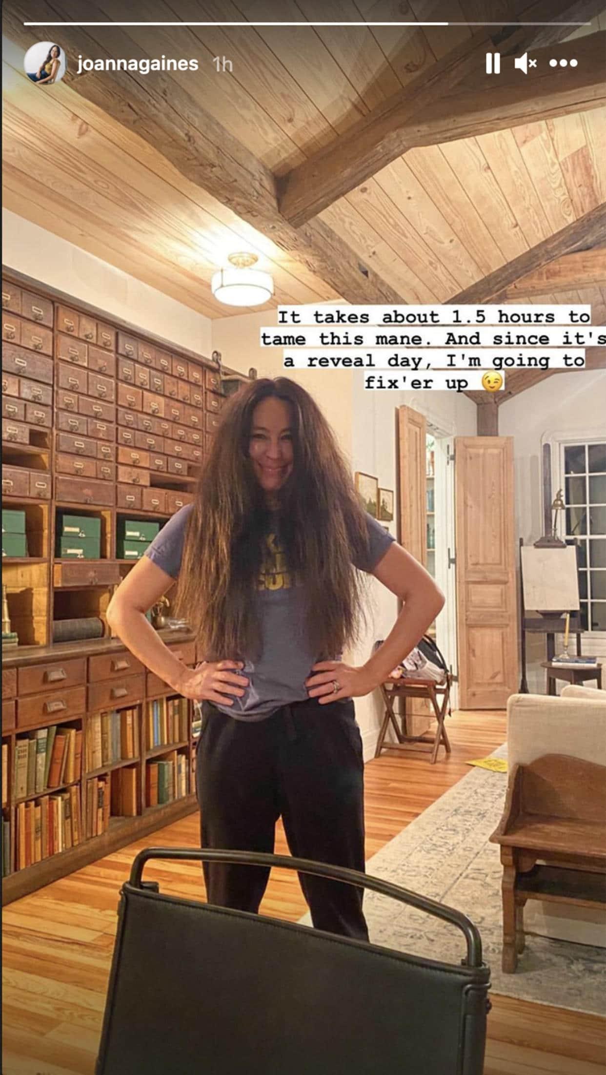 joanna gaines natural hair fixer upper