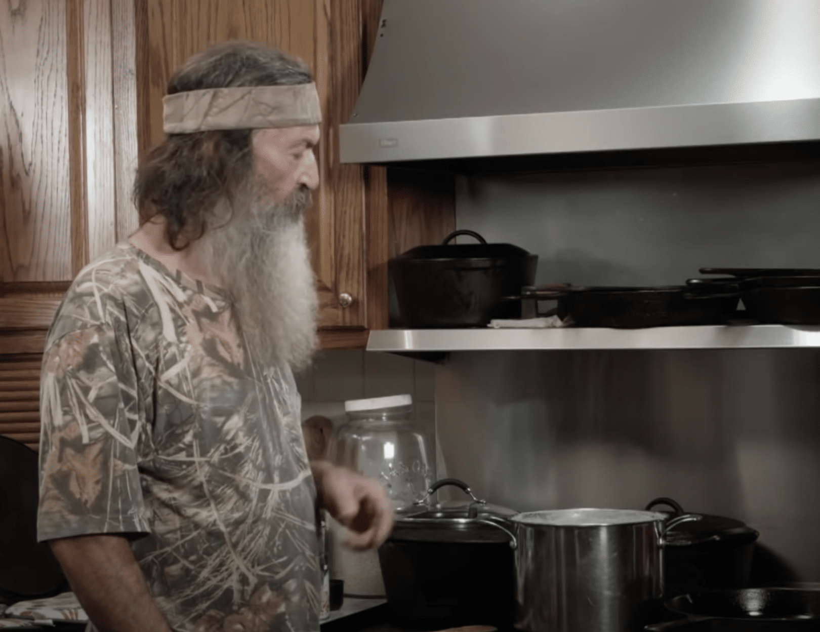 phil robertson cooking rice