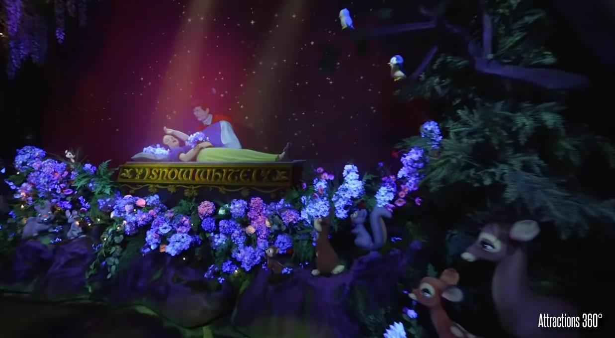 Snow White Ride at Disneyland