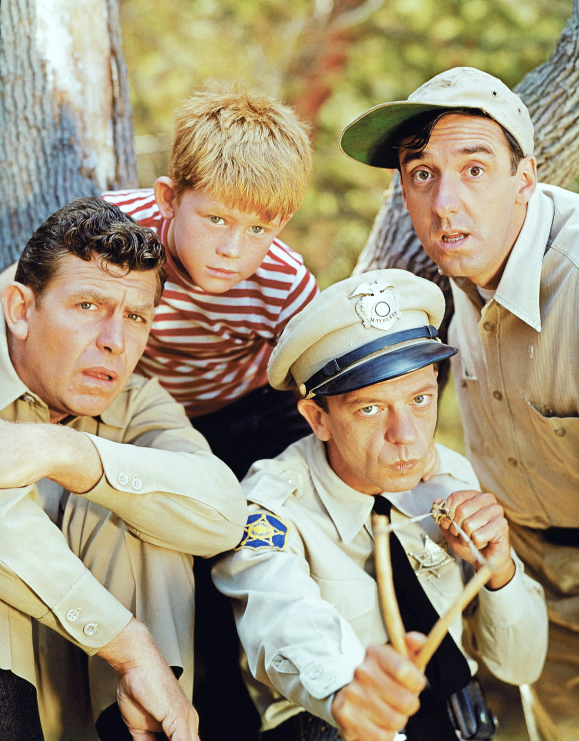 THE ANDY GRIFFITH SHOW, Andy Griffith, Ron Howard, Don Knotts, Jim Nabors, 1960-68