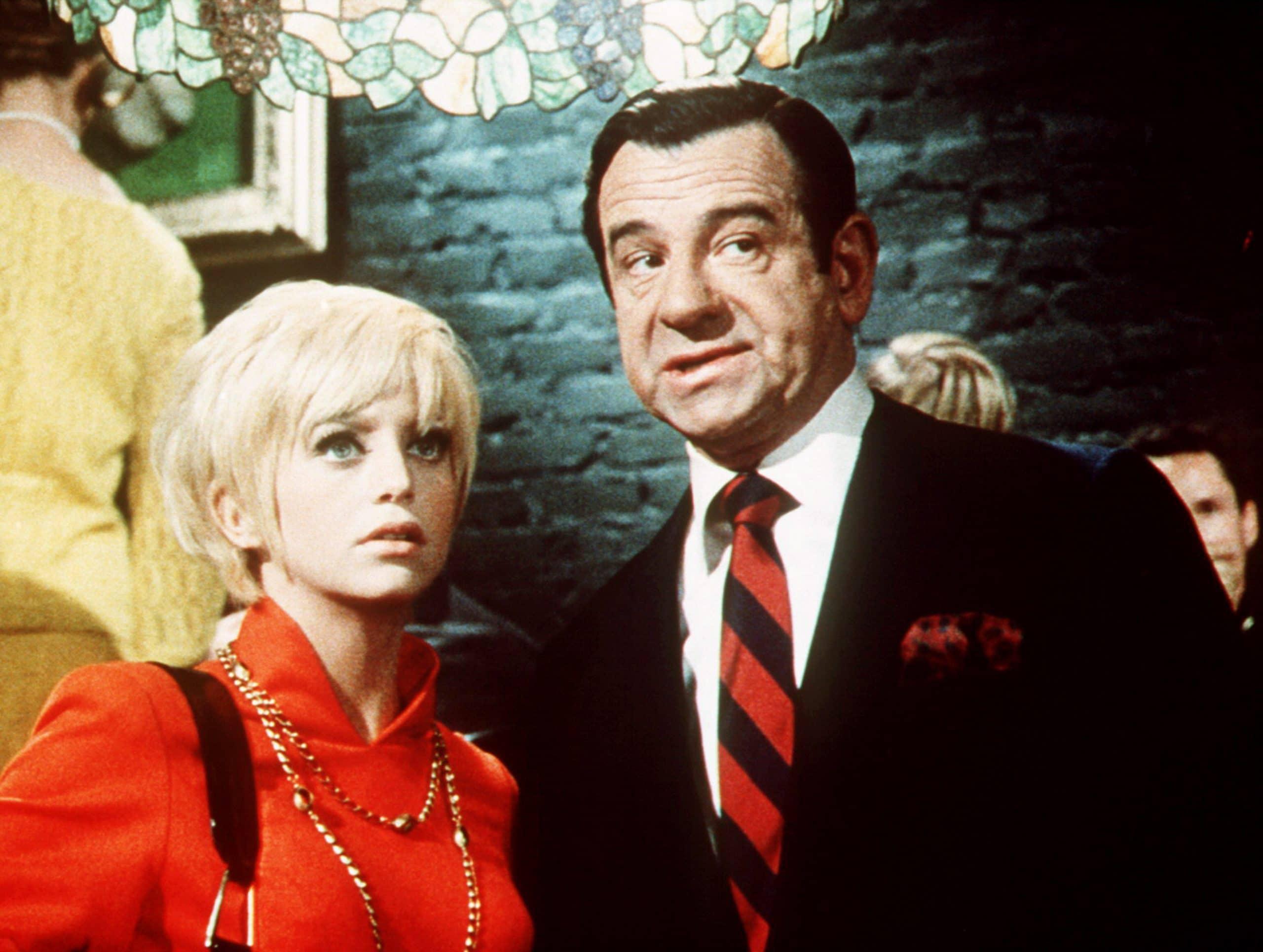 CACTUS FLOWER, Goldie Hawn, Walter Matthau, 1969