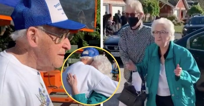 100-Year-Old Great-Grandpa Sees 98-Year-Old Sister For First Time Since Pandemic