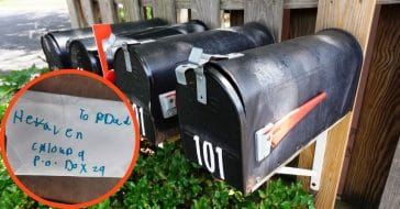 A mailman encounters his most important delivery: a daughter's letter to her dad in heaven