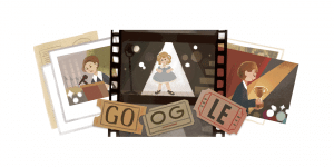 A recent Google Doodle celebrates the life of Shirley Temple