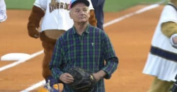 Bill Murray sang Take Me Out to the Ball Game