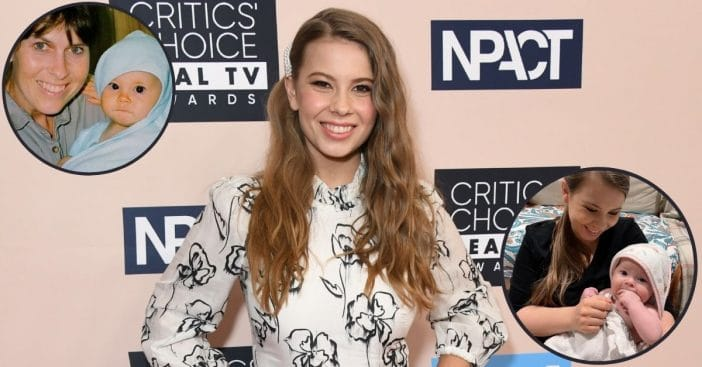 Bindi Irwin Shares Adorable 'Twinning' Photos Of Daughter Grace & Herself As A Baby