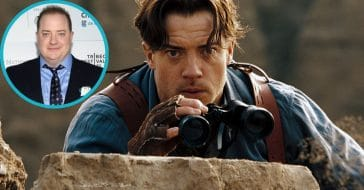 Brendan Fraser for 'The Whale' and 'The Mummy'
