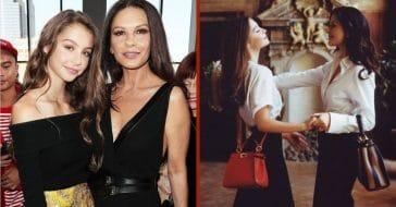 Carys, daughter of Michael Douglas and Catherine Zeta-Jones