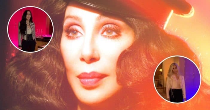 Cher joins TikTok with transformation video