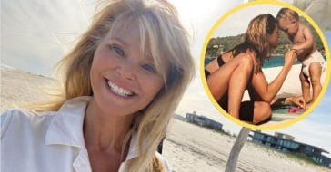 Christie Brinkley and her son Jack