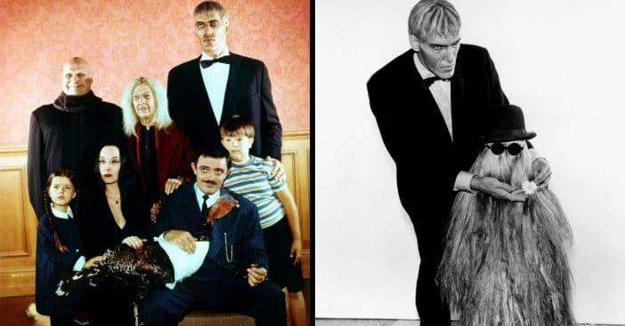 Cousin Itt and the Addams family
