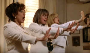 Diane Keaton's favorite First Wives Club line is more of a whole scene