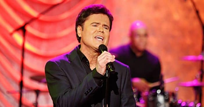 Donny Osmond will rap during his new show