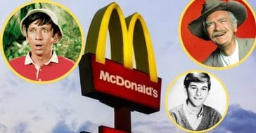 Early McDonald's ad campaigns allowed viewers to see 'Gilligan's Island,' 'Beverly Hillbillies,' and 'Leave It to Beaver' characters, among others
