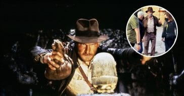 First look at Harrison Ford in new Indiana Jones movie