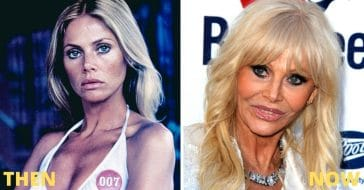 Former Bond Girl Britt Ekland Admits She 'Ruined Her Face' With Lip Fillers