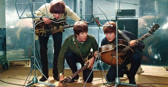 George Harrison, Paul McCartney, John Lennon, 1965