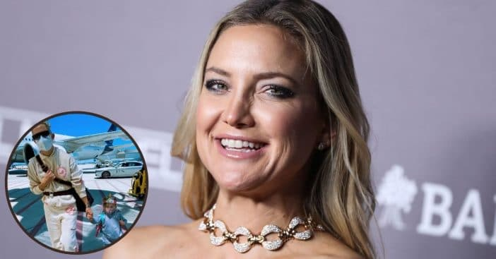 Kate Hudson Divides Fans Online With Masked-Up Airport Photo