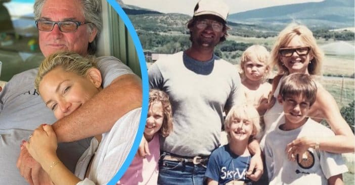 Kate Hudson celebrates Kurt Russell on Father's Day