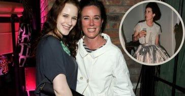 Kate Spade and Rachel Brosnahan