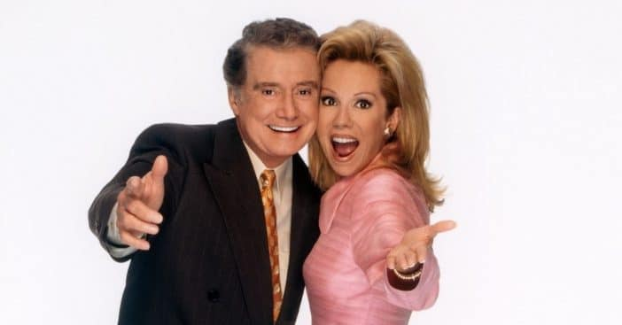 Kathie Lee Gifford paid tribute to Regis Philbin at Daytime Emmys