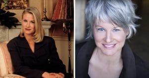 Lauren Lane then and now