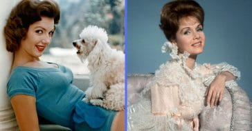 Left to right, Ruta Lee and Debbie Reynolds