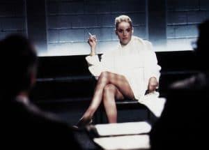 Sharon Stone in 'Basic Instinct' 1992