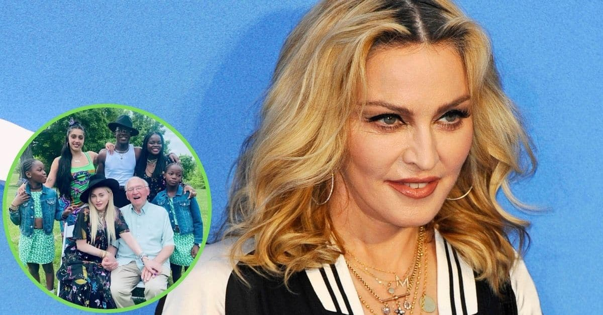 Madonna And Her Six Kids Celebrate Her Dad's 90th Birthday — See The Family Photos