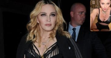 Madonna Poses In Her Underwear To Celebrate Big News