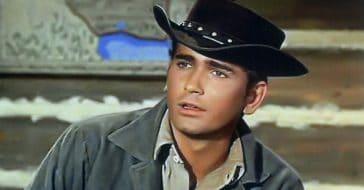 Michael Landon, rising star of Bonanza