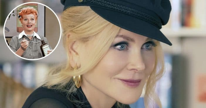 Nicole Kidman says playing Lucille Ball is out of her comfort zone