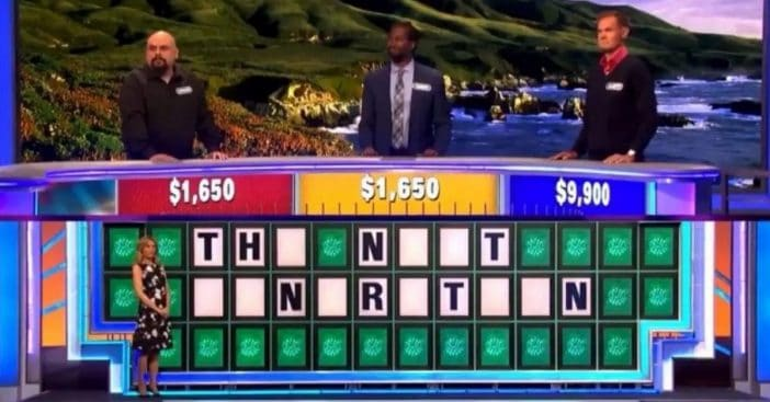 """One contestant guessed the """"best buttercup"""" after getting three Ns"""