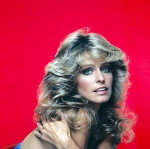 Farrah Fawcett set a whole trend among '70s hairstyles