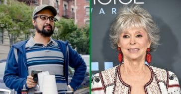 Rita Moreno Defends Lin-Manuel Miranda Over 'In the Heights' Lack Of Representation
