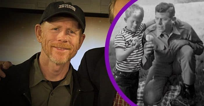 Ron Howard honors Andy Griffith