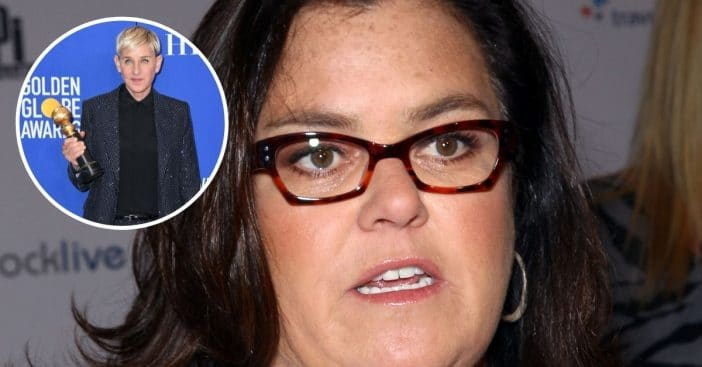 Rosie ODonnell opens up about the ending of Ellens show
