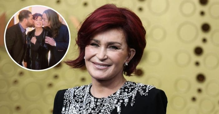 Sharon Osbourne shares sweet photo of her husband and son