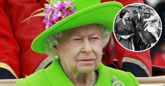 The Queen shared photo on first Fathers Day without Prince Philip