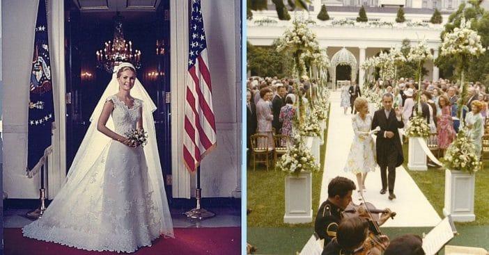 Tricia Nixon's wedding ceremony