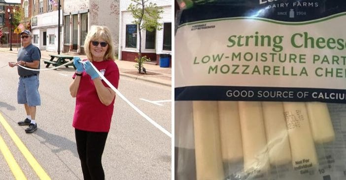 Wisconsin Dairy Breaks Their Own Record For Longest String Cheese