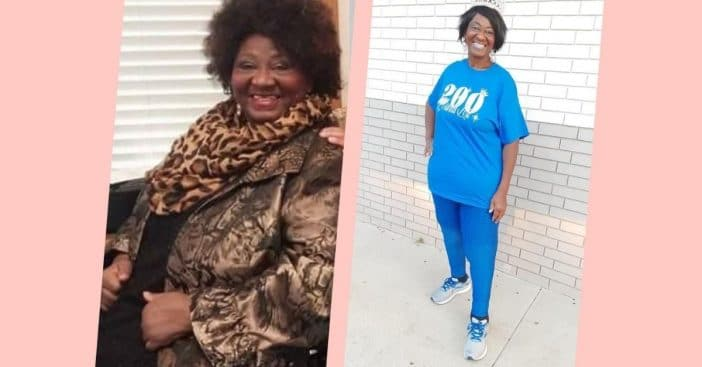 Woman Loses An Incredible 200 Lbs Before Turning 70 No Excuses