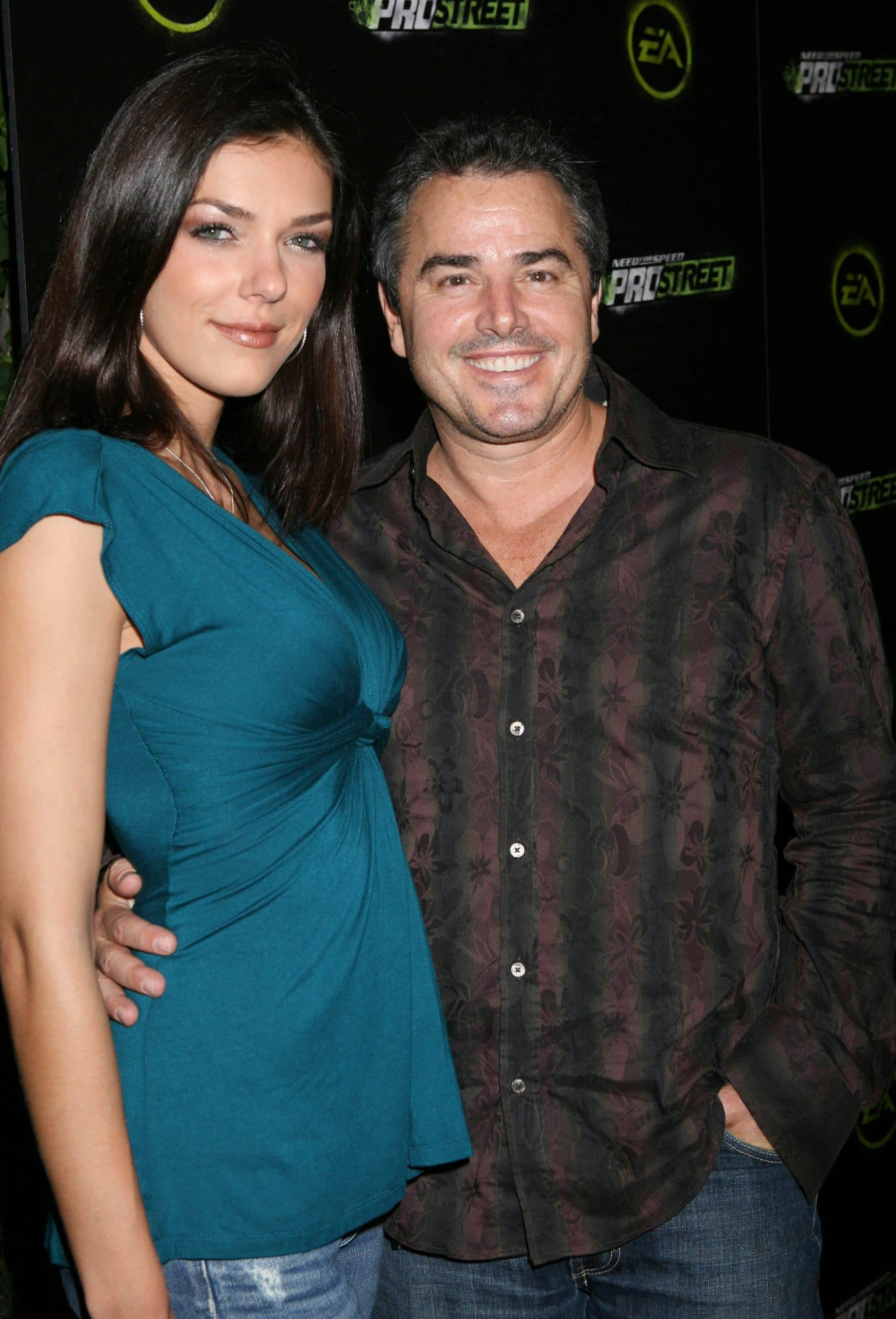 Christopher Knight and Adrianne Curry